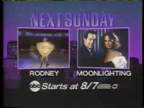 Moonlighting 1985 ABC Sunday Night Movie Promo