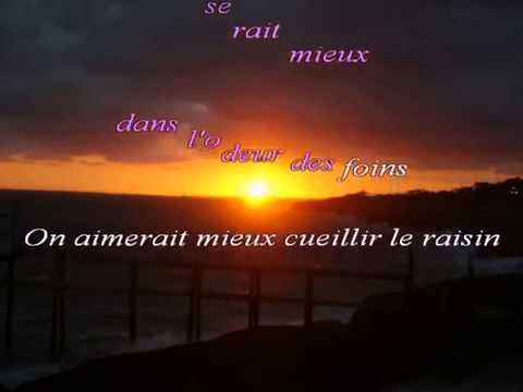 claude françois Le lundi au soleil