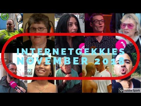 De Internetgekkies van de maand November 2018