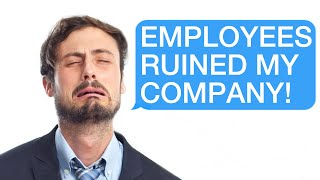 r/Prorevenge Employees Stage A Mass-Quit T๐ Destroy Their Toxic Boss's Company!