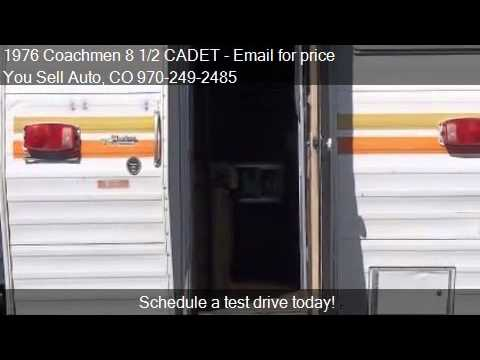 1976 Coachmen 8 1/2 CADET for sale in Montrose, CO 81403 at