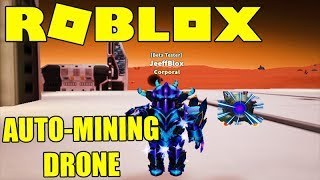 BUYING THE MINING DRONE AT MARS MINING SIMULATOR-ROBLOX