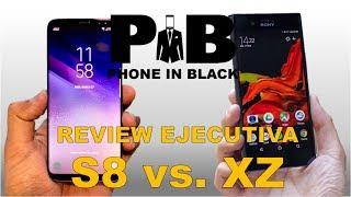 Samsung Galaxy S8 vs Sony Xperia XZ Premium - Comparativa - Review Ejecutiva