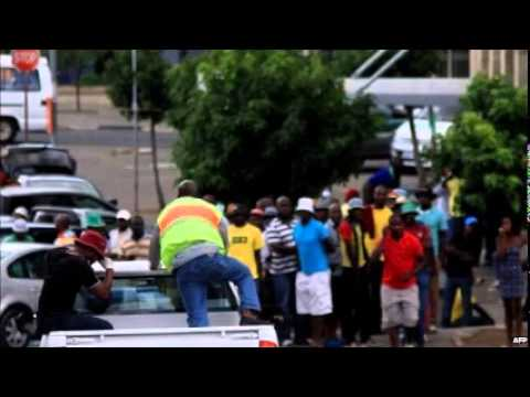 Lesotho PM Thomas Thabane's bodyguards shot