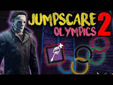 JUMPSCARE OLYMPICS 2 - The Shape - Dead by Daylight with Hyb