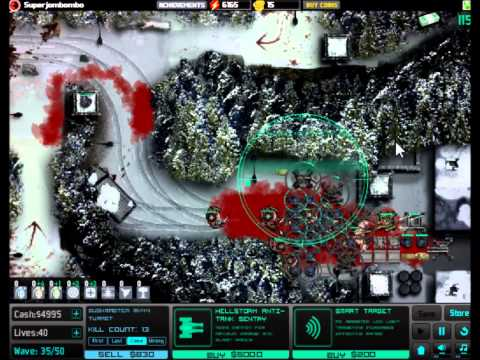 SAS Zombie Assault TD Elite Sub-Zero