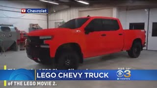 Lego, Chevy Team Up For Life-Size Silverado Truck