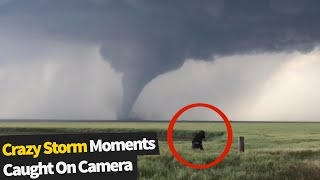 We have put together some extreme weather moments that were caught on camera. you certainly wouldn't want to get up in any of these!upload your own vi...