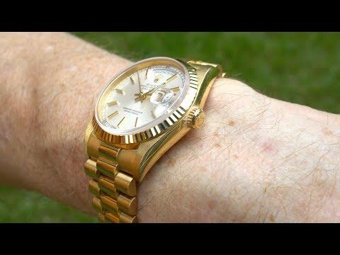 Last GREAT Rolex DAY-DATE 18238 In 4k UHD