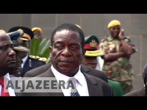 Robert Mugabe fires 'disloyal' Zimbabwe VP Emmerson Mnangagwa