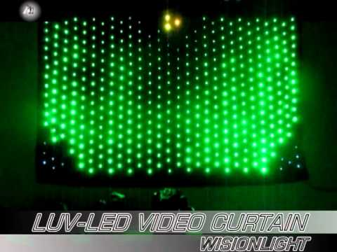 Led Dj Booth Skirt Led Dj Backdrop Curtain Youtube