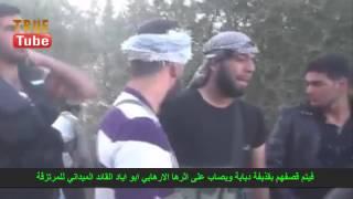 СИРИЯ РАНЕНИЕ ПОЛЕВОГО КОМАНДИРА ССА В ГОЛОВУ  (Syrian Civil War )