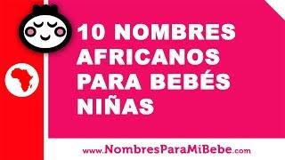 Nombres africanos de niña
