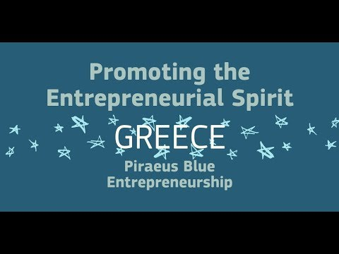 EEPA 2018 Promoting the Entrepreneurial Spirit: Piraeus Blue Entrepreneurship, Greece