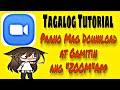 Zoom App - Paano mag download at Gamitin. Tagalog Tutorial.