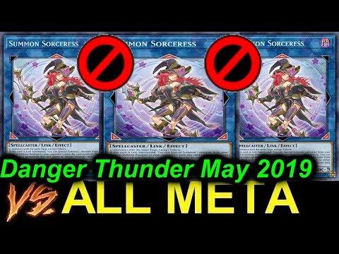 Download 【YGOPRO】DANGER THUNDER VS ALL META - NEW BANLIST MAY 2019