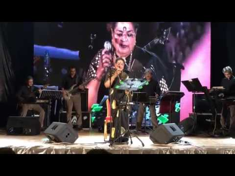 2-Evergreen Usha Uthup at 10th year anniversary of Kuwait chapter of the ICAI