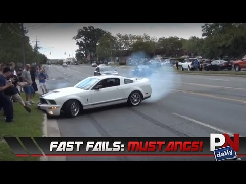 Fast Fails Mustang Leaving Car Shows Edition