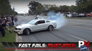 Fast Fails: Mustang Leaving Car Shows Edition