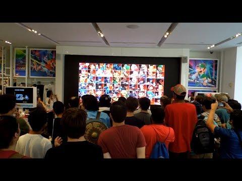 Super Smash Bros. Ultimate Direct 8.8.2018 Live Reactions at Nintendo NY