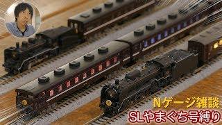 【SLやまぐち号縛り雑談】TOMIXとKATOから35系客車 4000番台が競作に!/ D51200号機 / 12系レトロ客車が大井川鐵道へ譲渡 / C56160号機が引退…【Nゲージ 鉄道模型】