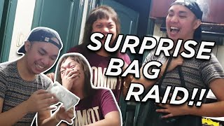 SURPRISE BAG RAID KAY KITTY BAGO PUMUNTA KAY VICE GANDA (LAPTRIP ANG LAMAN)