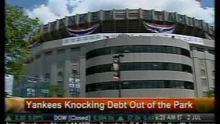 Yankees Knocks Debt Out Of The Park - Bloomberg