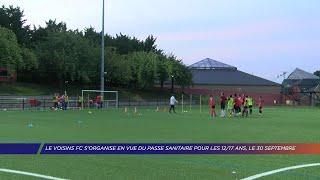Yvelines | Le Voisins FC s'organise en vue du passe sanitaire pour les 12/17 ans, le 30 septembre