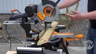 Evolution Rage3-db Tct Multipurpose Double Bevel Sliding Mitre Saw