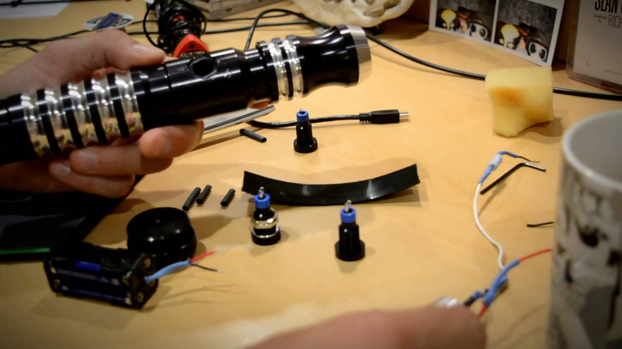hight resolution of ultrasabers activation switch replacement