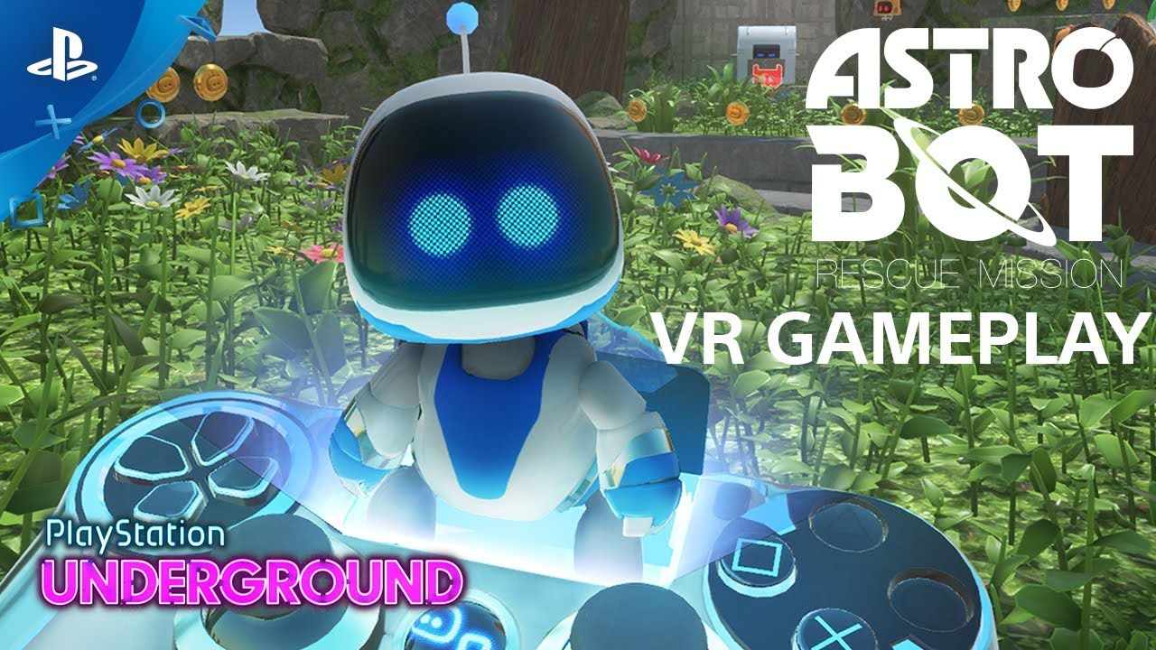 ASTRO BOT Rescue Mission - Gameplay Demo | PlayStation Underground