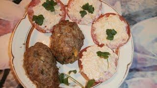 Кулинария  Зразы мясные с луком и  яйцом
