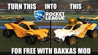How to use ANY cosmetic in Rocket League using Bakkas Mod