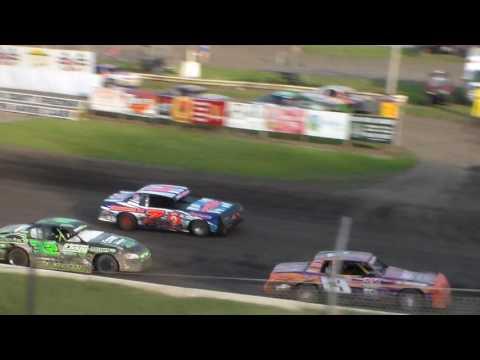 Stock Car Heat 1 @ Hamilton County Speedway 07/11/17