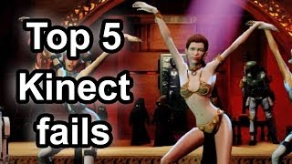 Top 5 - Biggest Kinect fails