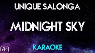 Unique Salonga - Midnight Sky (Karaoke/Acoustic Instrumental)