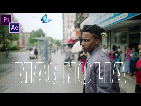 Playboi Carti - Magnolia Music Video Editing Breakdown Premiere Pro & After Effects CC How to