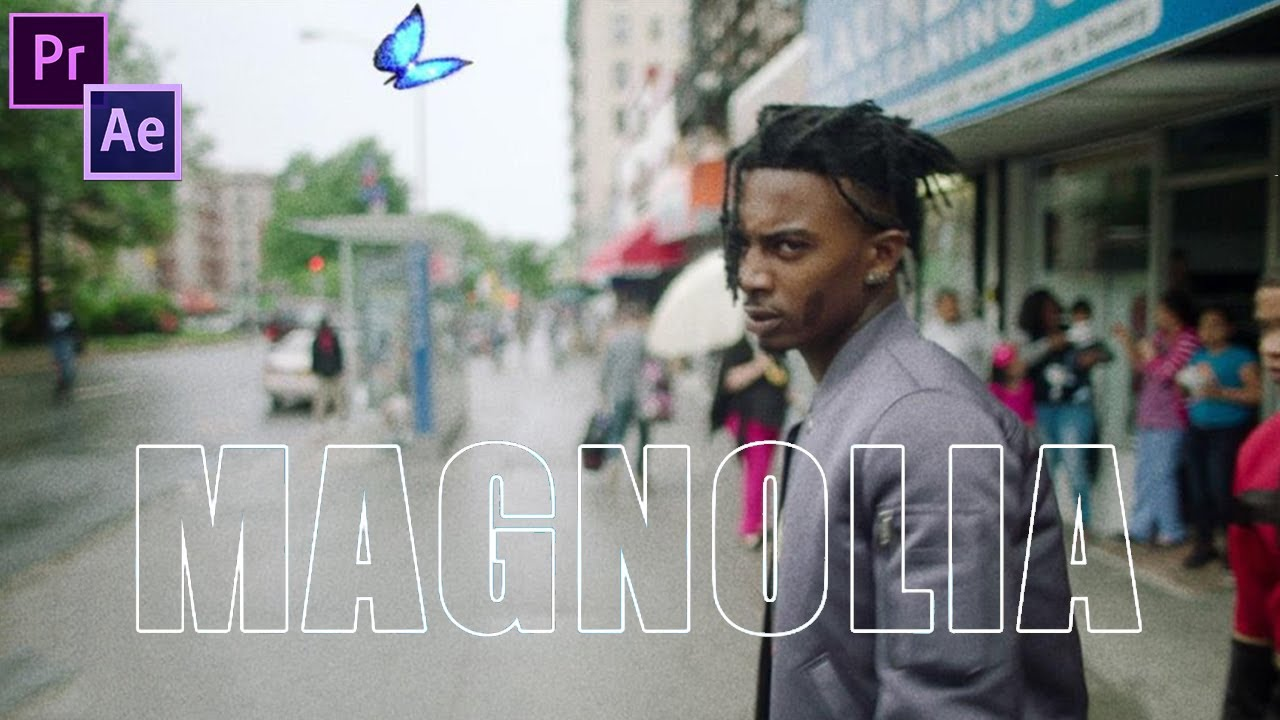 Playboi Carti - Magnolia (Music Video Editing Breakdown) (Premiere Pro & After Effects CC How to)
