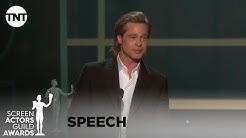 Brad Pitt: Award Acceptance Speech   26th Annual SAG Awards   TNT