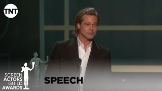 Brad Pitt: Award Acceptance Speech | 26th Annual Sag Awards | Tnt