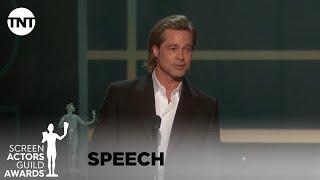 Brad Pitt: Award Acceptance Speech | 26th Annual SAG Awards | TNT