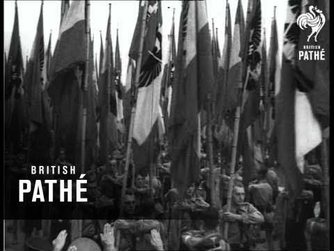 German Labour Rally At Nuremberg Aka Nazi Rally (1937)