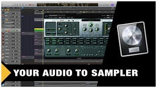 How to Convert your Audio to Samples (Logic Pro X) screenshot 4
