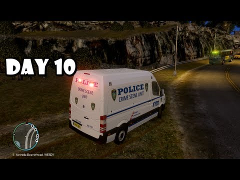 GTA IV: LCPDFR Day 10 - NYPD Crime Scene Unit