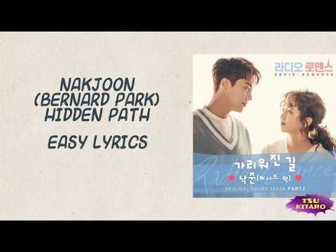 NakJoon (Bernard Park) - Hidden Path Lyrics (karaoke with easy lyrics)