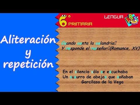 aliteración-y-repetición.-lengua,-6º-primaria