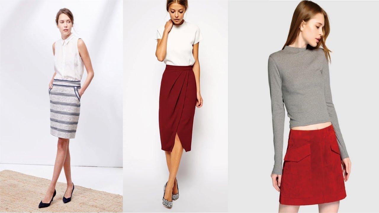 d643b2232 Faldas de Moda 2018 - Outfits para Juveniles