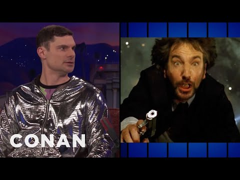 Flula Borg's Favorite Action Film Is 'Die Hard'  - CONAN on TBS