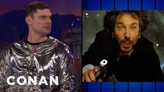 """Flula Borg's Favorite Action Film Is """"Die Hard""""  - CONAN on TBS"""