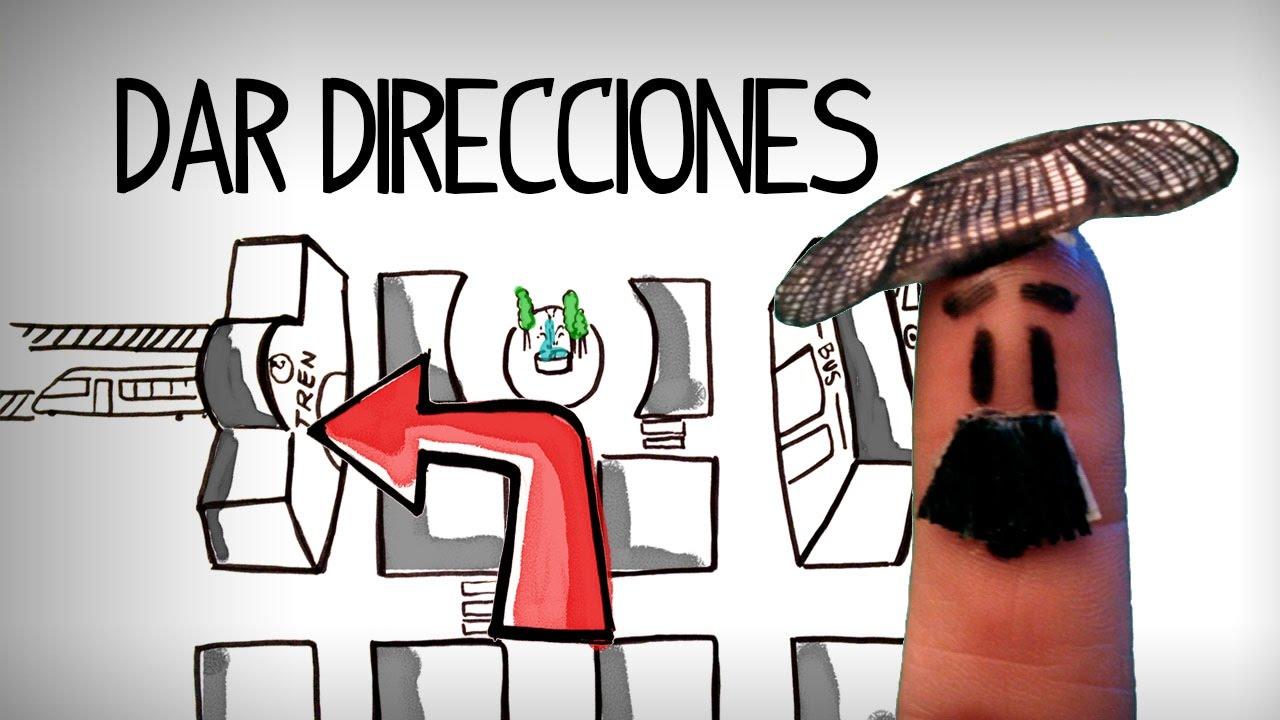 Preguntar Y Dar Direcciones En Español Español Inicial Youtube